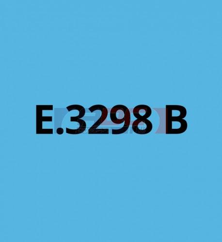 E3298B Bleu Ciel brillant - Vinyle adhésif Ecotac - Durabilité jusqu'à 6 ans