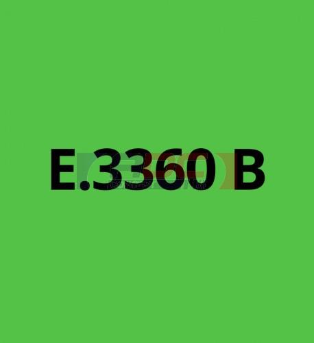 E3360B Vert Clair brillant - Vinyle adhésif Ecotac - Durabilité jusqu'à 6 ans