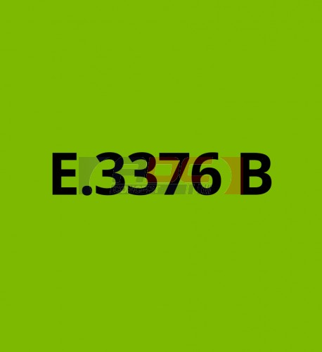 E3376B Vert Tilleul brillant - Vinyle adhésif Ecotac - Durabilité jusqu'à 6 ans