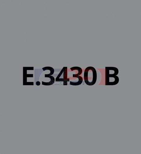 E3430B Gris Moyen brillant - Vinyle adhésif Ecotac - Durabilité jusqu'à 6 ans