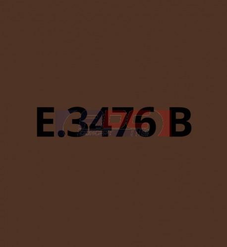 E3476B Marron brillant - Vinyle adhésif Ecotac - Durabilité jusqu'à 6 ans
