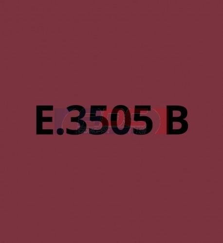 E3505B Bordeaux brillant - Vinyle adhésif Ecotac - Durabilité jusqu'à 6 ans