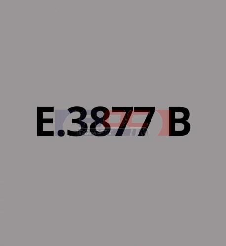 E3877B Argent brillant - Vinyle adhésif Ecotac - Durabilité jusqu'à 6 ans