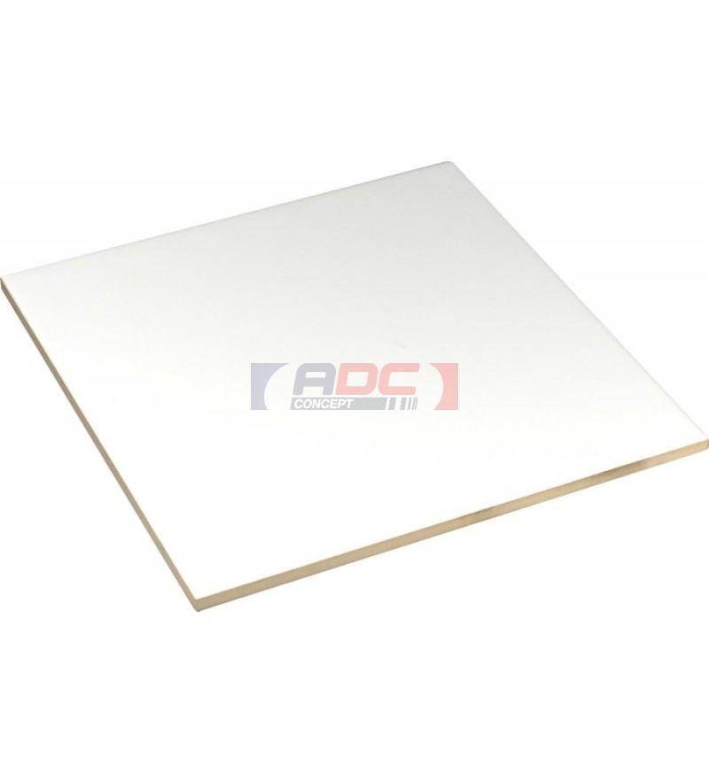 Carrelage blanc c ramique carr 4 5 x 4 5 cm adc concept for Carrelage 5 cm