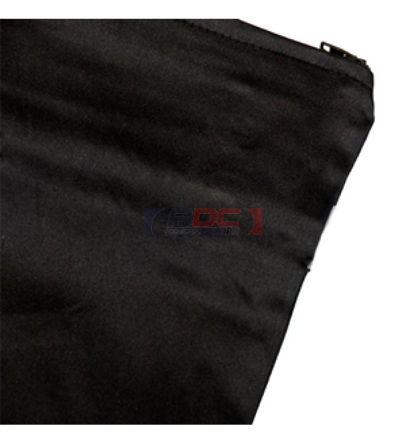 Housse de coussin noire satin e 45 x 45 cm adc concept - Housse de coussin originale ...
