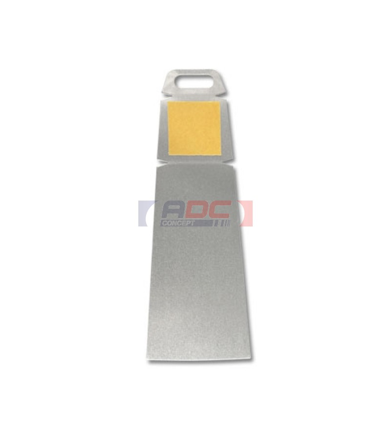Support de table pour tableau en aluminium 50 x 140 mm - Table alu pour marche ...