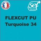 PU FlexCut Turquoise 34