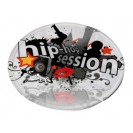 Frisbee blanc avec pochette de rangement sublimable