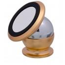 Support smartphone magnétique doré avec plaque alu sublimable