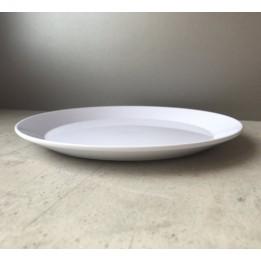 Assiette creuse en polymère blanche pour sublimation 3D Ø 19 cm