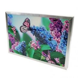 Cadre 20 x 29 cm argenté pour plaque alu HD Wunderboard