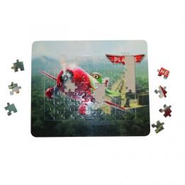 Puzzle rectangle 23,5 x 19,6 cm avec cadre photo et support arrière (vendu à l'unité)
