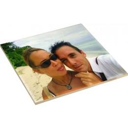 Carrelage blanc céramique carré 10,8 x 10,8 cm