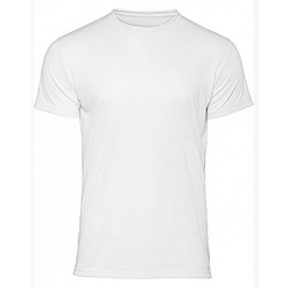 Tee-shirt homme blanc CGTW062 140 gr/m² pour sublimation S à XXXL (vendu à l'unité)