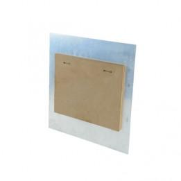 Entretoise en bois pour cadre alu supérieur à 40 x 50 cm