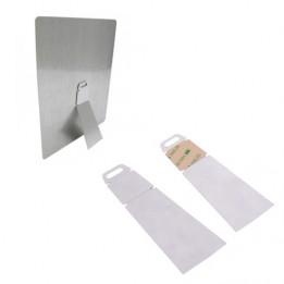 Chevalet en aluminium avec adhésif pour cadre maxi 20 x 25 cm