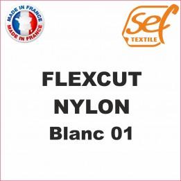 PU FlexCut Nylon Blanc 01