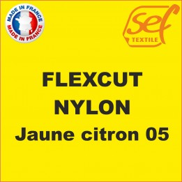 PU FlexCut Nylon Jaune Citron 05