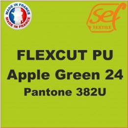 Destockage - PU FlexCut Apple Green 24 - Dimension 38,1 cm x 9,2 ML