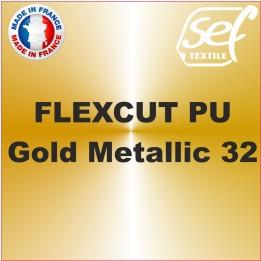 PU FlexCut Gold Metallic 32