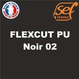 Destockage - PU FlexCut Noir 02 - Dimension 38,1 cm x 9,2 ML