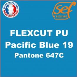 Destockage - PU FlexCut Pacific Blue 19 - Dimension 38,1 cm x 9,2 ML