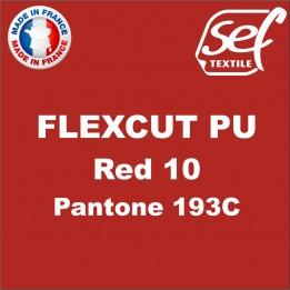 Destockage - PU FlexCut Rouge 10 - Dimension 38,1 cm x 9,2 ML