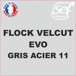 Flock VelCut Evo Gris Acier 11