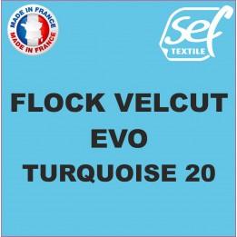 Flock VelCut Evo Turquoise 20