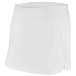 Jupe tennis blanche femme 100% polyester interlock ProAct PA165