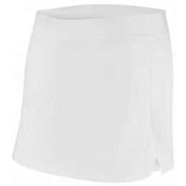 Jupe tennis blanche femme 100% polyester interlock ProAct PA165