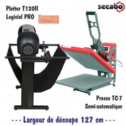 Atelier Textile Pro : Plotter T120II + Presse TC7