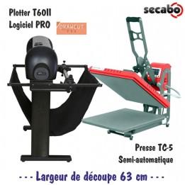 Atelier Textile Pro : Plotter T60II + Presse TC5