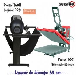 Atelier Textile Pro : Plotter T60II + Presse TC7
