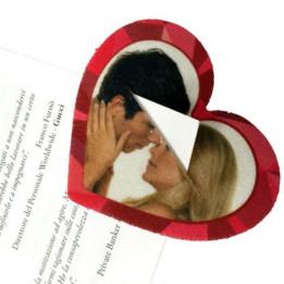 Marque-page en feutrine blanche 9 x 7,5 cm épaisseur 3 mm (vendu à l'unité)