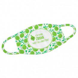 Masque respiratoire en tissu blanc 100% polyester - Taille XL 20 x 12,5 cm (vendu à l'unité)