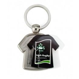 """Lot de 100 porte-clés métalliques """"MX-D"""" tee-shirt 2 faces"""