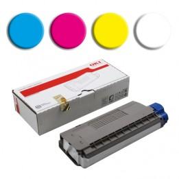 Toner pour imprimante laser OKI C711WT