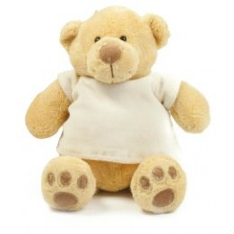 Ourson peluche MUMBLES avec tee-shirt sublimable