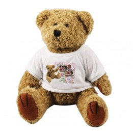 Peluche ours brun Teddy H 18 cm