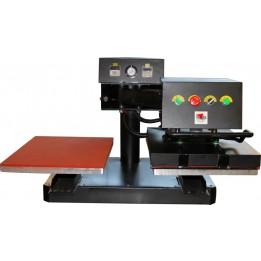 Presse pneumatique double plateaux TS-4050PP2E 40 x 50 cm
