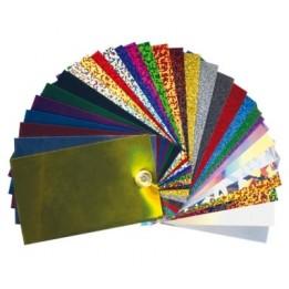 Kit découverte Flex spéciaux (sparkle, métal, divers) - 27 couleurs - 33/34 cm x 1 mètre