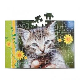 Puzzle sans cadre 19 x 24 cm épaisseur 2 mm - 30 / 110 pièces
