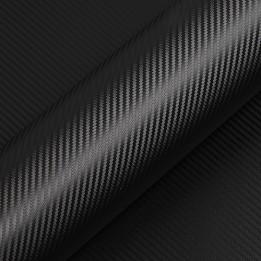 Vinyle adhésif Suptac S5CANB Carbone Noir brillant - Durabilité jusqu'à 10 ans