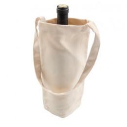 Sac en lin 15 x 27 cm pour bouteille personnalisable en sublimation