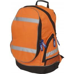 Sac à dos London YYK8001 orange fluo haute visibilité marque YOKO