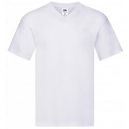 Tee-shirt manches courtes col V original-T 100% coton S à 5XL - 21 coloris