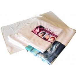 Serviette de bain en tissu éponge microfibre 50 x 100 cm