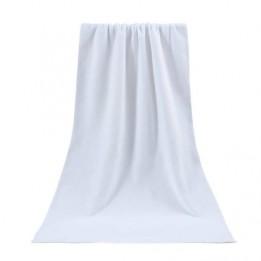Serviette de bain avec recto polyester pour sublimation et verso coton