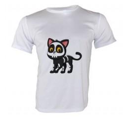 Tee-shirt Royal blanc 140 gr/m² enfant pour sublimation 3 à 12 ans